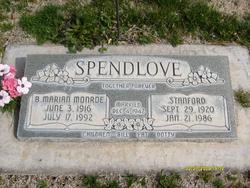 Bertha Marian <I>Monroe</I> Spendlove