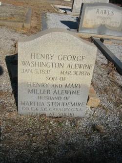 Pvt Henry George Washington Alewine