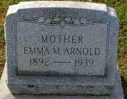 Emma M <I>Wagner</I> Arnold