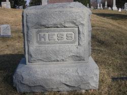 Mary Elizabeth <I>Champlin</I> Hess