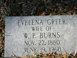 Evelena <I>Greer</I> Burns