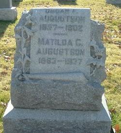 Matilda C <I>Anderson</I> Augustson