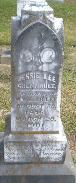 Jessie Beatrice <I>Lee</I> Chennault