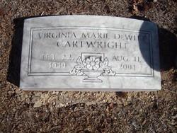 Virginia Marie <I>DeWitt</I> Cartwright