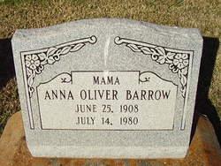 Anna <I>Oliver</I> Barrow