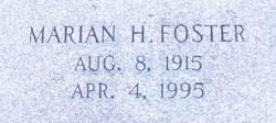 Marian <I>Harrison</I> Foster