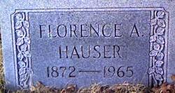 Florence Almeda <I>Winters</I> Hauser
