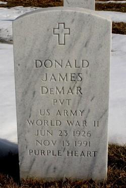 Donald James DeMar