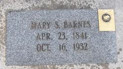 Mary Elizabeth <I>Simmons</I> Barnes
