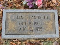 Ellen Frances <I>Clemmons</I> Landreth