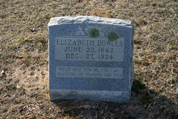 Elizabeth <I>Trimble</I> Bowles