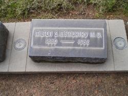 Dr Milton Scott McMurtry