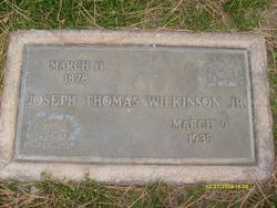 Joseph Thomas Wilkinson, Jr