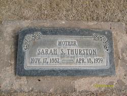 Sarah <I>Stock</I> Thurston