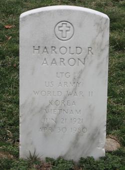 LTG Harold Robert Aaron