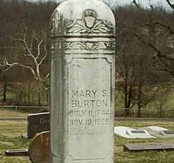 Mary S. <I>Hood</I> Burton