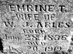 Emrine T <I>Everett</I> Ables