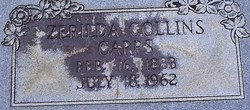 Zerilda <I>Collins</I> Capps
