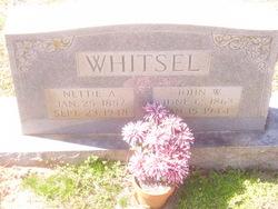 Nettie A <I>Hanley</I> Whitsel