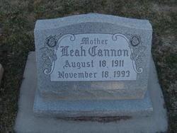 Leah <I>Cannon</I> Smith