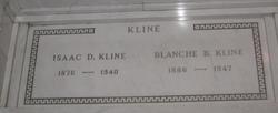 Blanche <I>Bernheimer</I> Kline