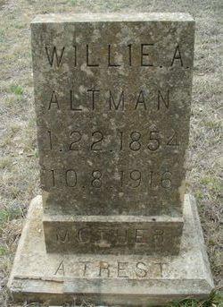 Willie Ann <I>Allen</I> Altman