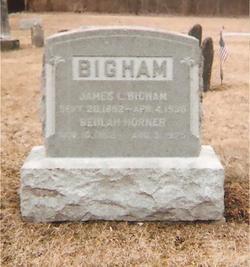 Beulah Floretta <I>Horner</I> Bigham