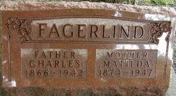 Matilda <I>Brostrom</I> Fagerlind