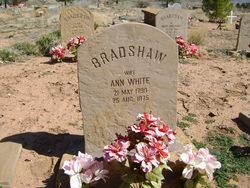 Ann White Bradshaw