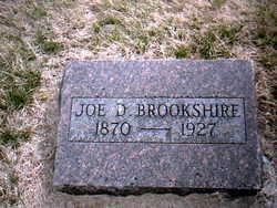 """Joseph Drake """"Joe"""" Brookshire"""