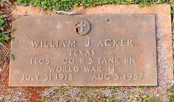 "William Jackson ""Jack"" Acker"