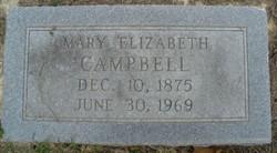 "Mary Melissa Elizabeth ""Lizzie"" <I>Medlock</I> Campbell"