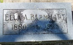 Ella A. <I>Weir</I> Barnhart
