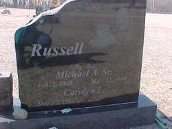 Michael Allen Big Mike Russell Sr 1948 1999 Find A Grave Memorial