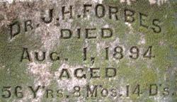 Dr Joseph H. Forbes