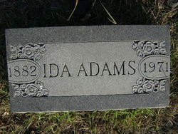 Ida May <I>Welch</I> Adams