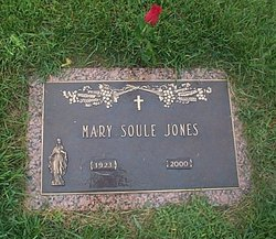 Mary Elizabeth <I>Soule</I> Jones