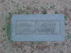 Mabel <I>McCammon</I> Gaffaney