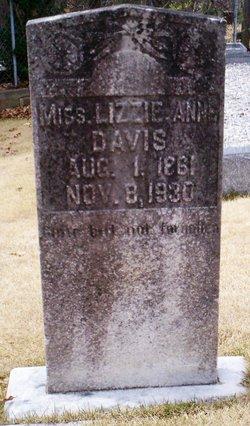 Lizzie Anne Davis