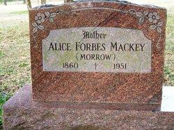 Sarah Alice <I>Forbes</I> Mackey