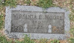Virginia Elizabeth <I>Logan</I> Moore