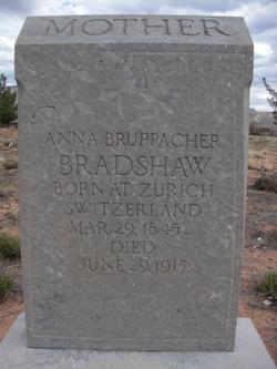Anna Bruppacher Bradshaw