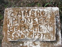 Cameron Pioneer Cemetery