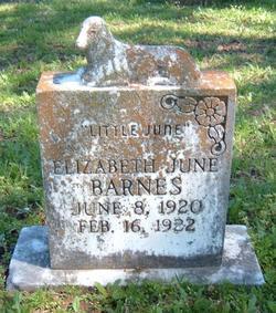 Elizabeth June Barnes