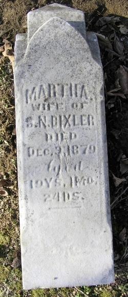 Martha <I>Stoops</I> Bixler