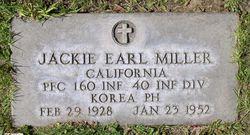 PFC Jackie Earl Miller