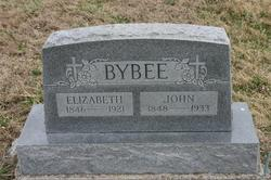 Elizabeth Jane <I>Hinshaw</I> Bybee