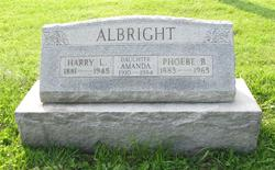 Phoebe Blanch <I>Bickerstaff</I> Albright