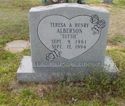 "Teresa A ""Tuttie"" <I>Henry</I> Alberson"