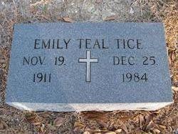 Emily <I>Teal</I> Tice